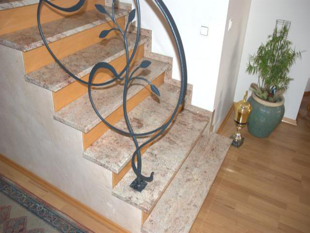 Piaskowe schody